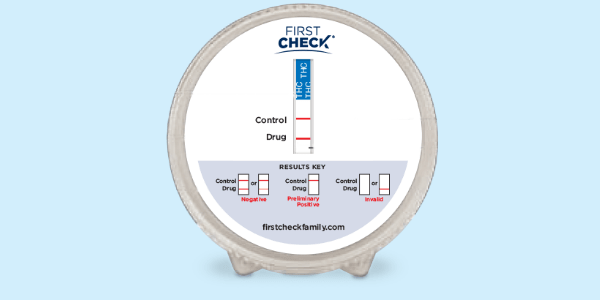 First Check Home Drug Test - Timing of the Drug Test and